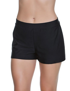 Beach Diva Black Swim Shorts