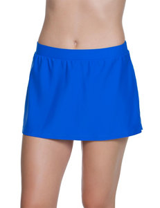 Beach Diva True Blue Swimsuit Bottoms Skirtini