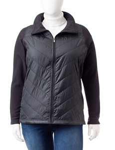 Columbia Plus-size Quilted Fleece Jacket