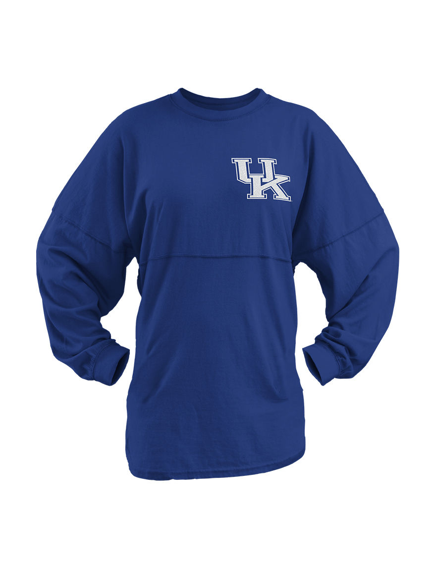 NCAA Royal Blue Tees & Tanks NCAA
