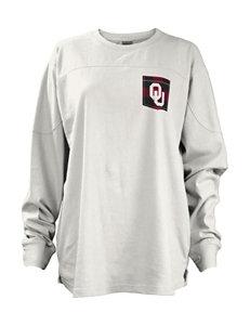 University of Oklahoma Buffalo Plaid Top