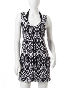 Portocruz Tribal Print Swim Cover Up