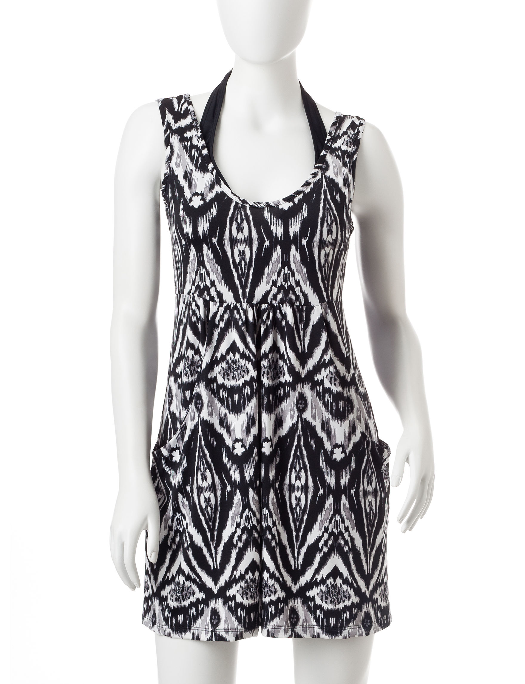 Portocruz Black / White Cover-Ups