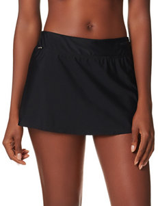 Zero Xposur Black Swimsuit Bottoms Skirtini