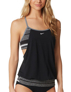Nike Black Swimsuit Tops Tankini