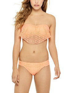 Hot Water Orange Swimsuit Bottoms Hipster