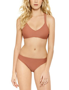 99 Degrees Brown Swimsuit Bottoms Hipster