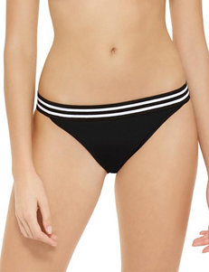 Hot Water Black Swimsuit Bottoms Hipster
