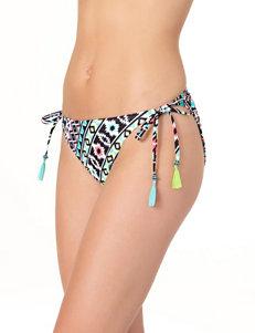 In Mocean Multicolor Aztec Print Bikini Bottoms