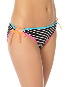 In Mocean Black / White Swimsuit Bottoms Hipster