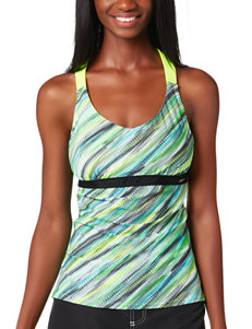 Zero Xposur Yellow Swimsuit Tops Tankini