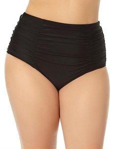 Allure Black Swimsuit Bottoms High Waist