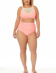 Allure Light Orange Swimsuit Tops Bralette