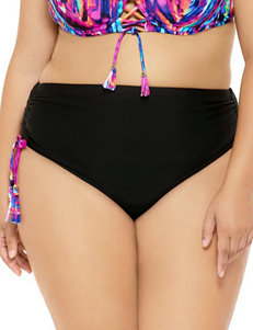 Costa del Sol Black Swimsuit Bottoms Hi Waist