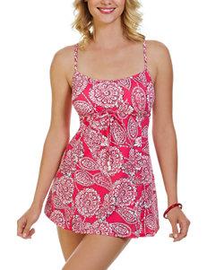 Penbrooke Coral One-piece Swimsuits Tankini