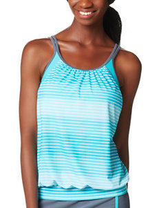 Free Country Turquoise Swimsuit Tops Tankini