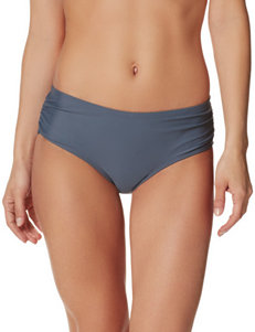 Free Country Grey Swimsuit Bottoms Hipster
