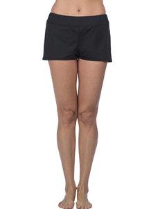 Ocean Avenue Black Swimsuit Bottoms Boyshort