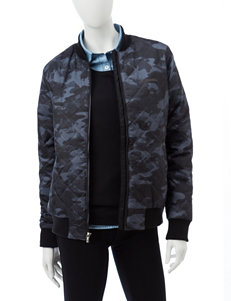Columbia Black / Grey Bomber & Moto Jackets