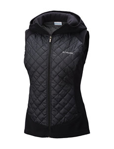Columbia Black Puffer & Quilted Jackets