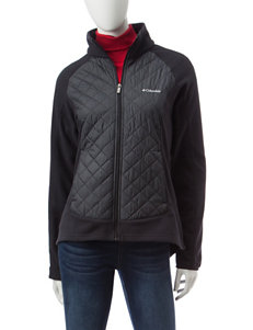 Columbia Black Fleece & Soft Shell Jackets