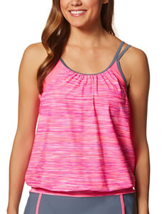 Free Country Pink Swimsuit Tops Tankini