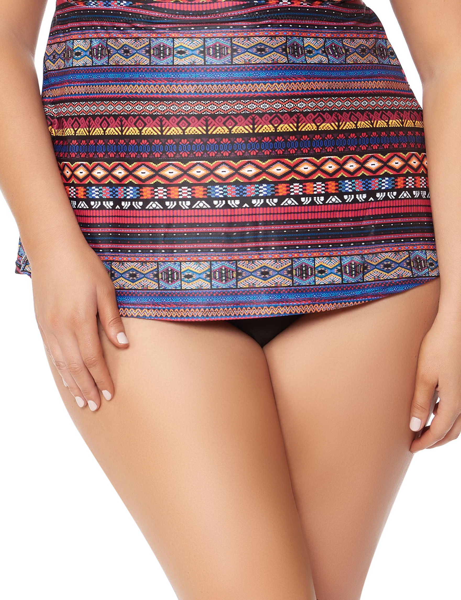Jessica Simpson Black Swimsuit Bottoms High Waist