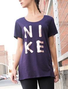 Nike Purple Tees & Tanks