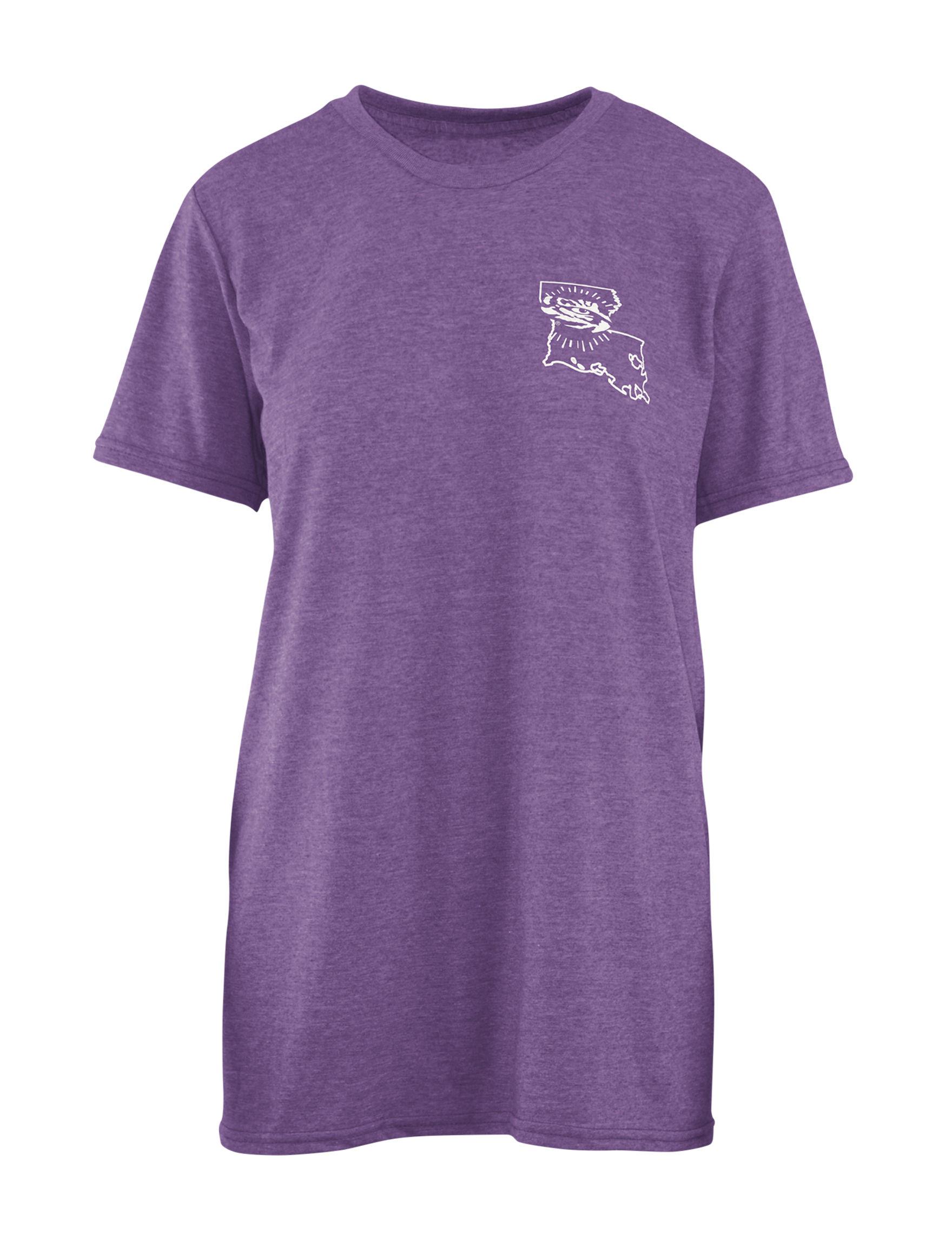 NCAA Purple Shirts & Blouses Tees & Tanks NCAA