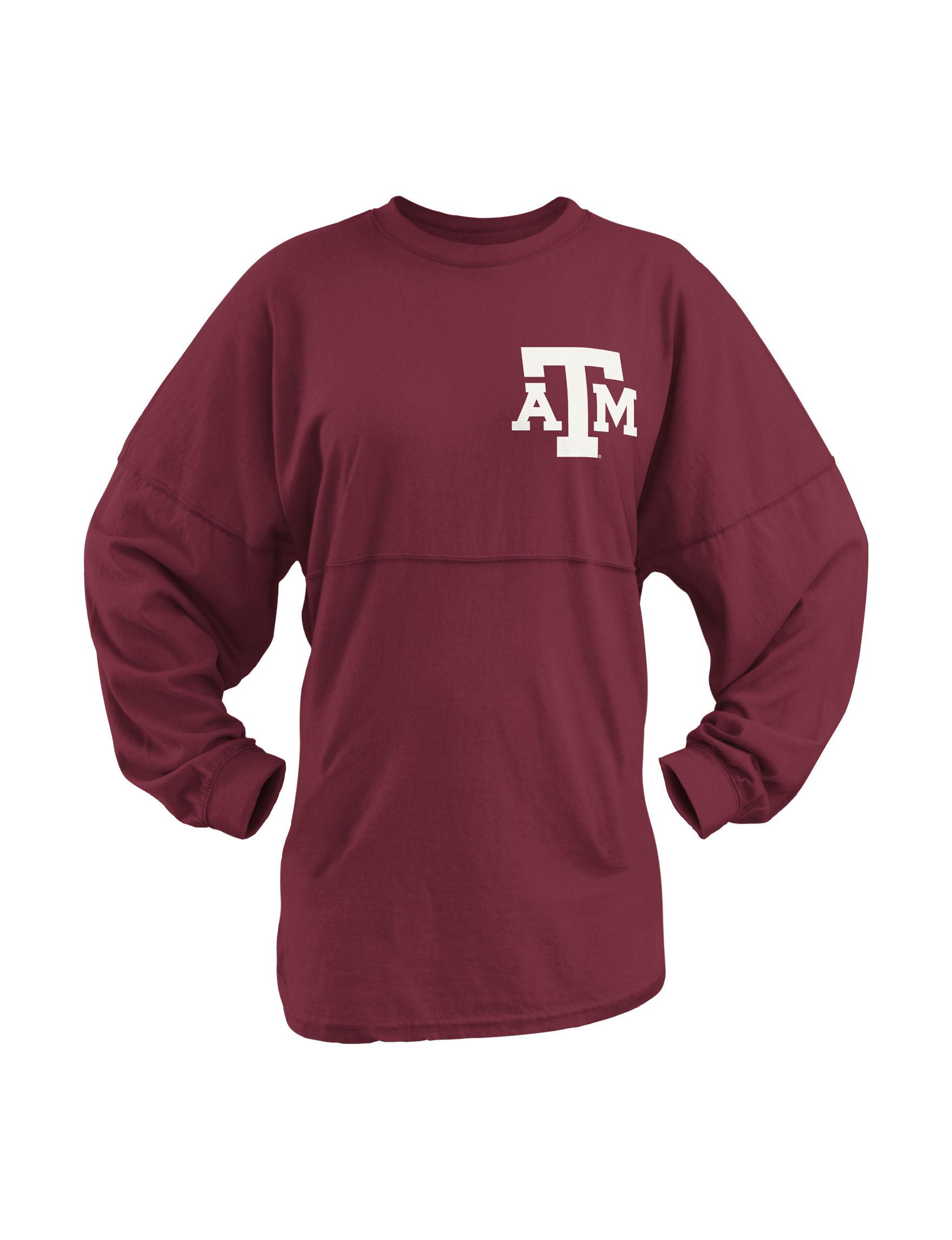 NCAA Maroon Shirts & Blouses Tees & Tanks NCAA