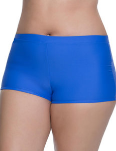 Beach Diva Cobalt Blue Swimsuit Bottoms Boyshort