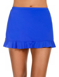 Caribbean Joe Sapphire Swimsuit Bottoms Skirtini