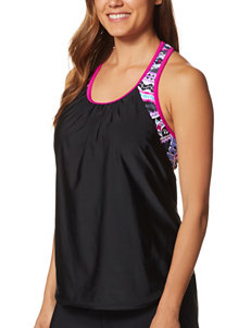 Zero Xposur Mulberry Swimsuit Tops Tankini