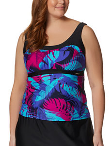 Zero Xposur Dark Blue Swimsuit Tops Tankini