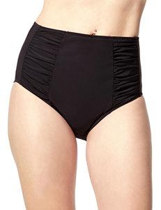 PB Sport Black Swimsuit Bottoms Hipster