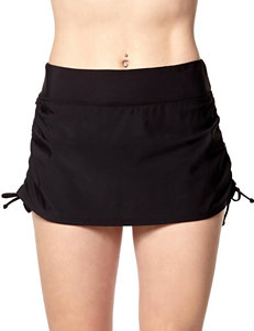 PB Sport Black Swimsuit Bottoms Skirtini