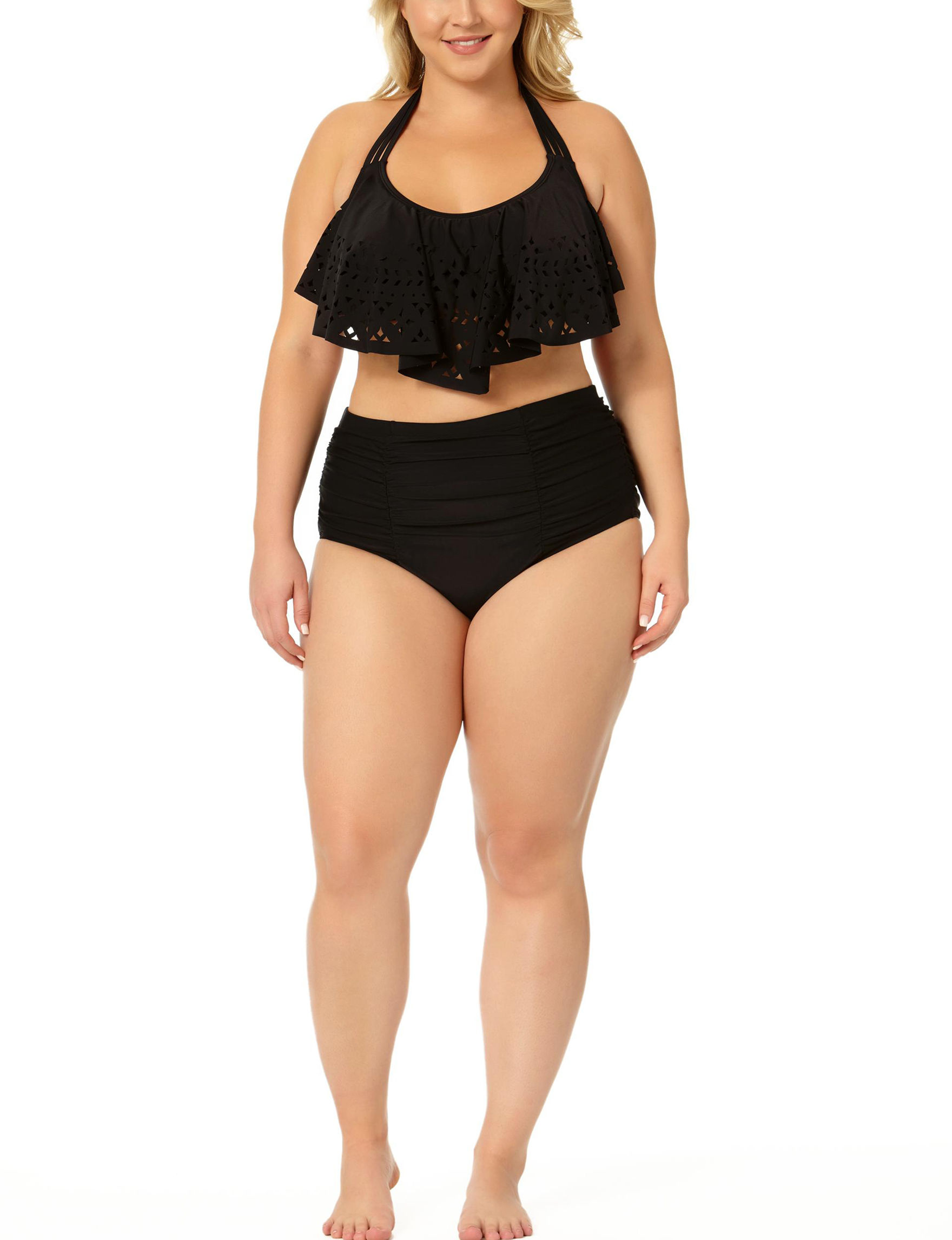 Allure Black Swimsuit Tops Bralette