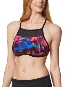 Nike  Swimsuit Tops Bralette High Neck
