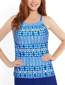 Splashletics Cobalt Blue Swimsuit Tops Tankini