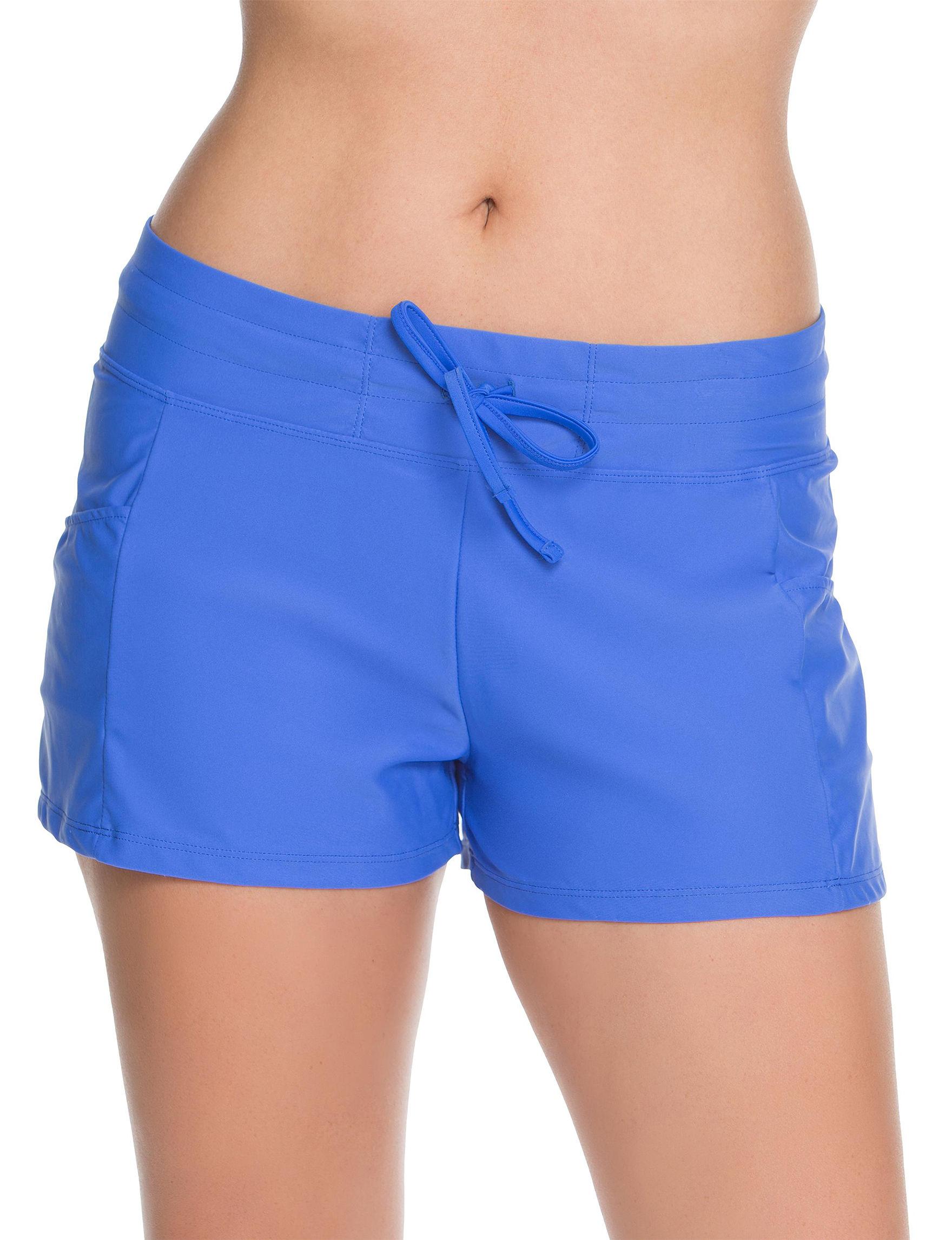 Splashletics Cobalt Blue Swimsuit Bottoms Boyshort