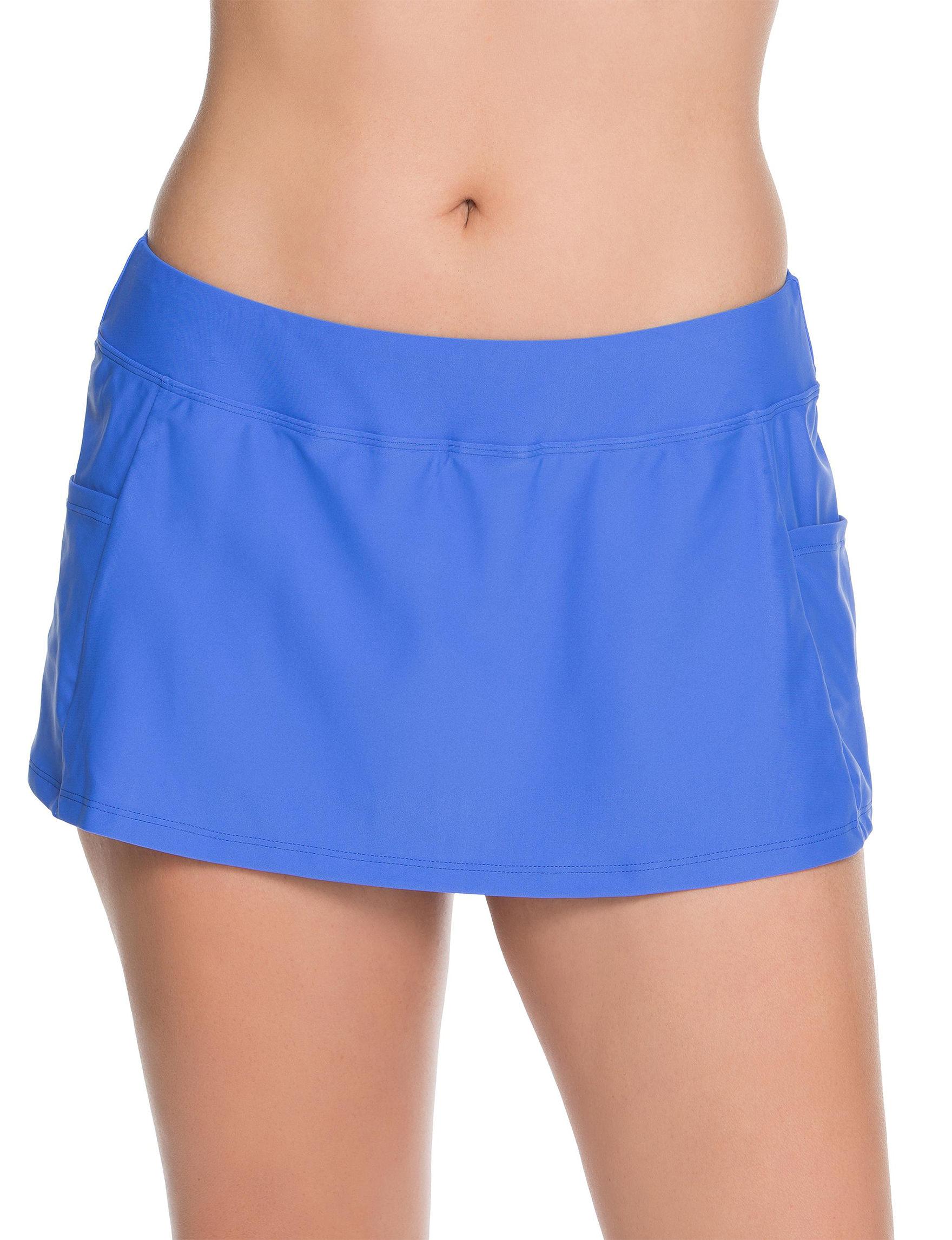 Splashletics Cobalt Blue Swimsuit Bottoms Skirtini