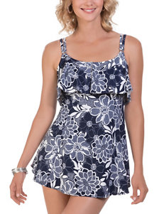 Penbrooke Navy One-piece Swimsuits Tankini