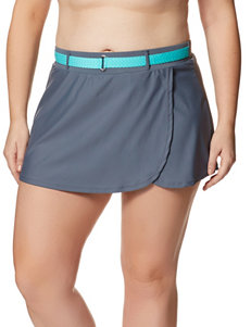 Free Country Grey Swimsuit Bottoms Skirtini