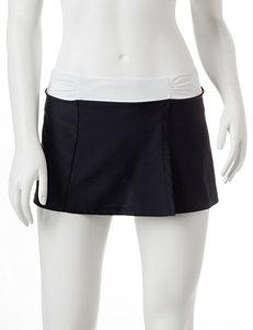 Free Country Shirred Swim Skirt