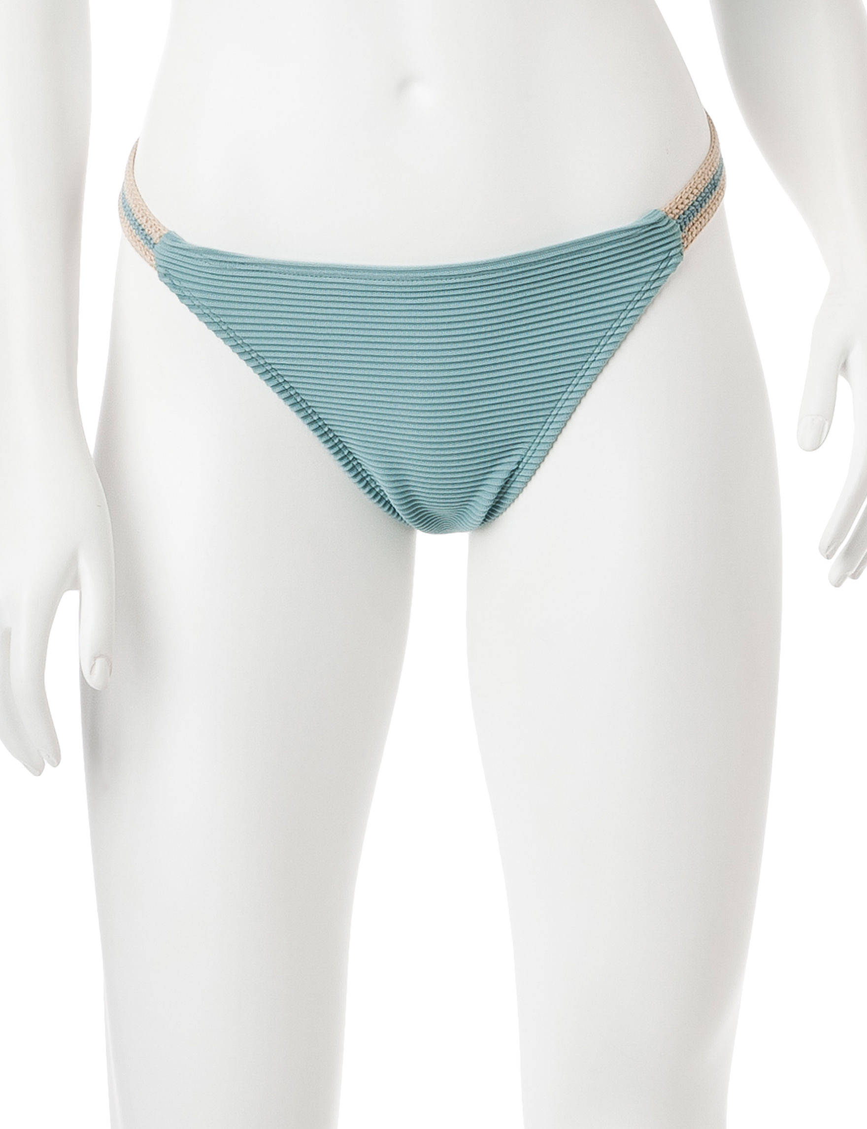 99 Degrees Seagreen Swimsuit Bottoms Hipster