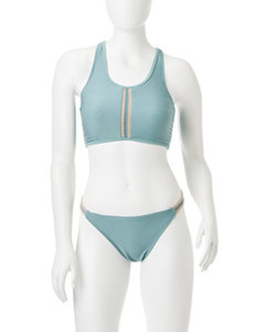 99 Degrees Seagreen Swimsuit Tops