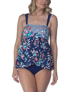 Maxine of Hollywood Navy One-piece Swimsuits