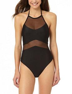 In Mocean Black One-piece Swimsuits Bandeau