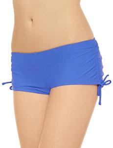 Hot Water Blue Swimsuit Bottoms Boyshort