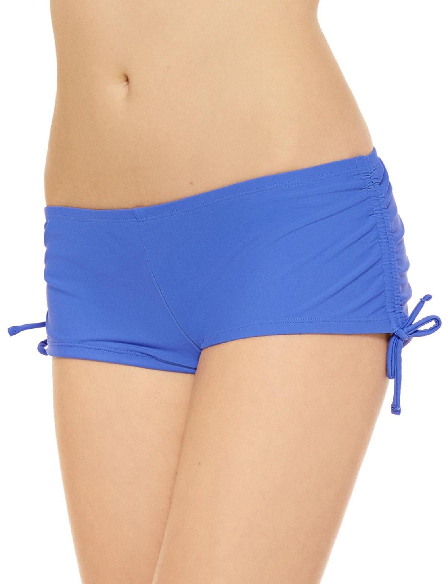 Hot Water Blue Swimsuit Bottoms Boyshort